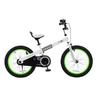 Buttons Kids Bike, 18 inch wheels, Green