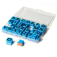 Educational Insights Alphabet Uppercase Rubber 5/8-inch Stamps