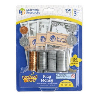 Learning Resources Pretend and Play Play Money