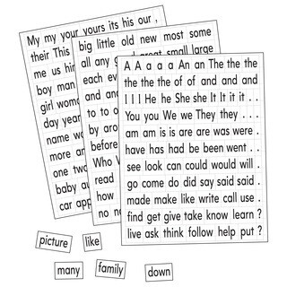 Educational Insights Kids' Magnetic Sight Words and Sentence Builders