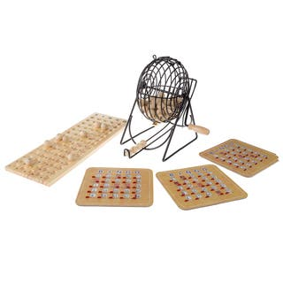 Hey! Play! Deluxe Bingo Game with Accessories - Brown