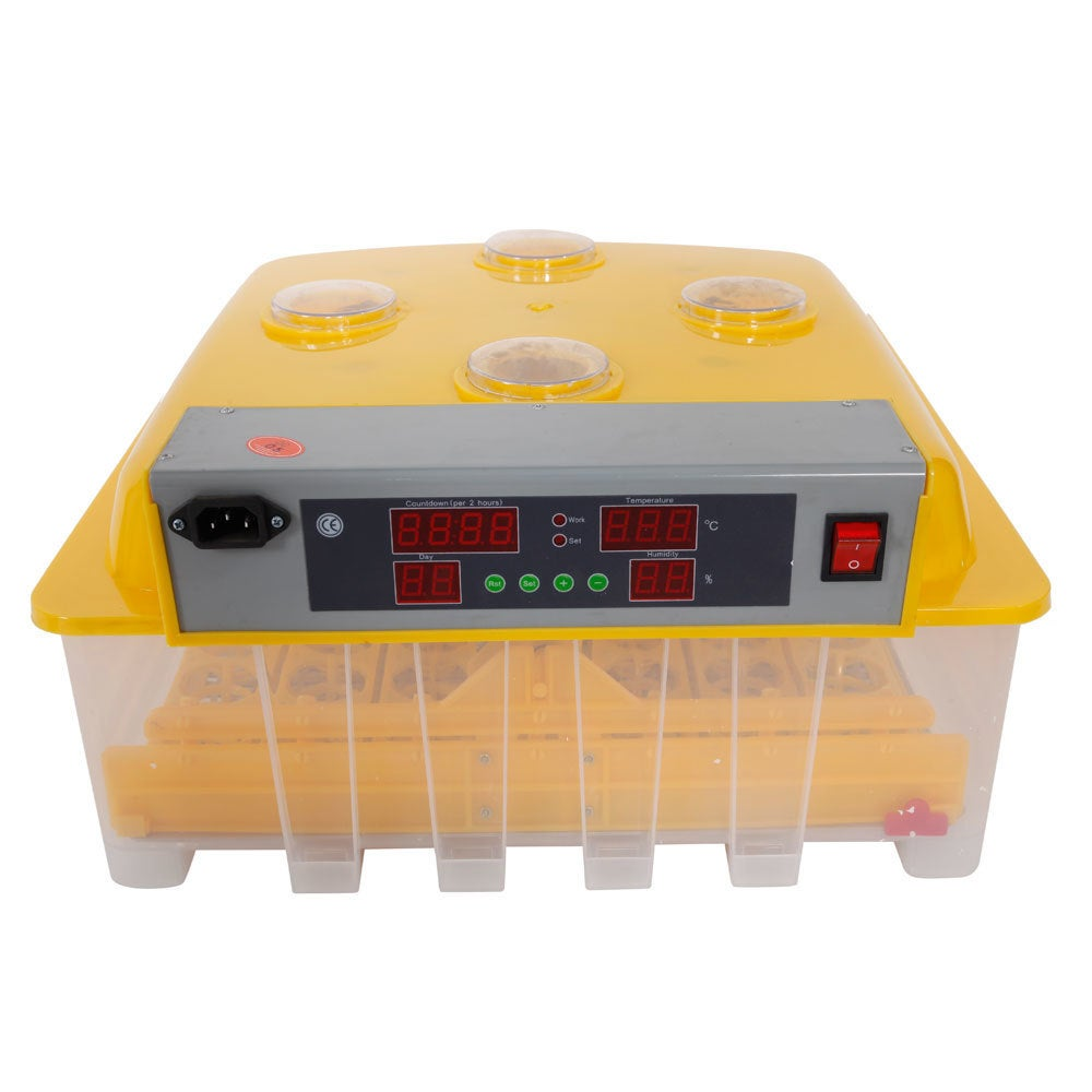 56-Egg Practical Peep Hole Fully Automatic Poultry Incuba...