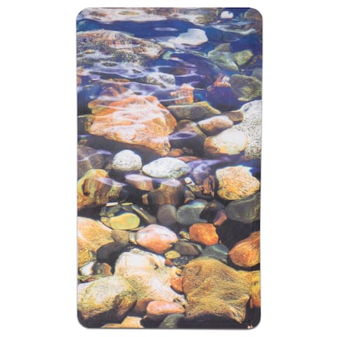 "Brook Printed Tub Mat (16""x27"")"