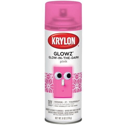 Glowz Aerosol Spray 6oz-Pink