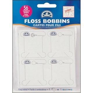 Cardboard Floss Bobbins-56/Pkg