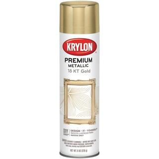Metallic Spray Paint 8oz-18 Karat Gold