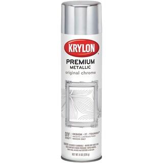 Metallic Spray Paint 8oz-Original Chrome