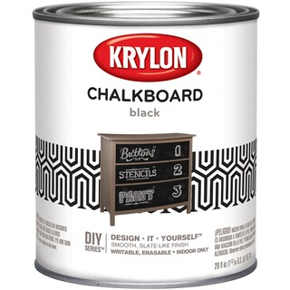 Chalkboard Paint Quart-Black