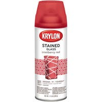 Stained Glass Paint 11.5oz-Cranberry Red