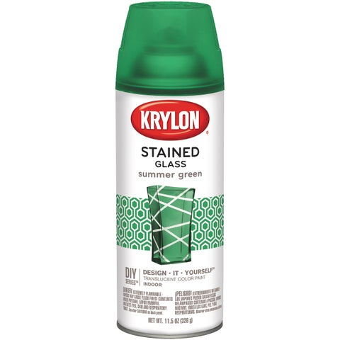 Stained Glass Paint 11.5oz-Summer Green