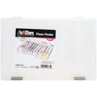 "ArtBin Floss Finder With Dividers-10.75""X7.375""X1.75"" Translucent"