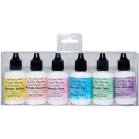 Ken Oliver Color Burst Liquid Metal Assortment-Precious Alloys