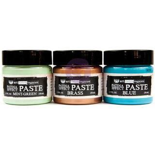 Finnabair Art Extravagance Patina Effect Paste Set-Mint Green, Blue, Brass; 1.7 Fl Oz Each|https://ak1.ostkcdn.com/images/products/16180097/P22553761.jpg?impolicy=medium