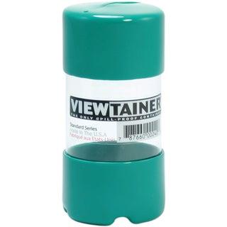 "Viewtainer Slit Top Storage Container 2""X4""-Green"