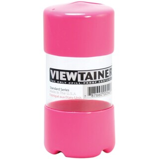 "Viewtainer Slit Top Storage Container 2""X4""-Pink"