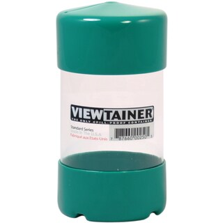 "Viewtainer Slit Top Storage Container 2.75""X5""-Green"