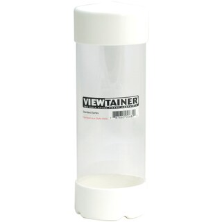 """Viewtainer Slit Top Storage Container 2.75""""X8""""-White"""