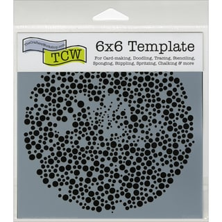 "Crafter's Workshop Template 6""X6""-Microbial"