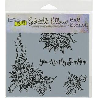 "Crafter's Workshop Template 6""X6""-My Sunshine"