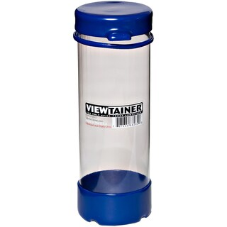 """Viewtainer Tethered Cap Storage Container 2.75""""X8""""-Blue"""