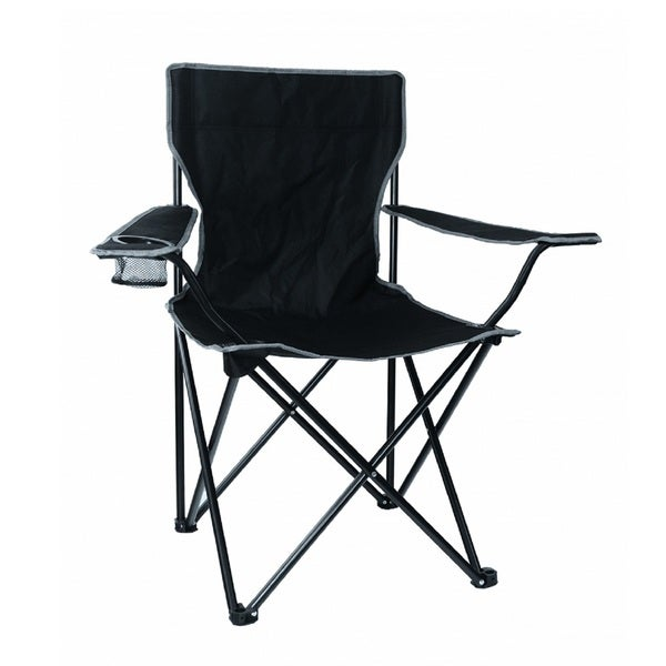 Texsport Leisure Arm Chair, Black