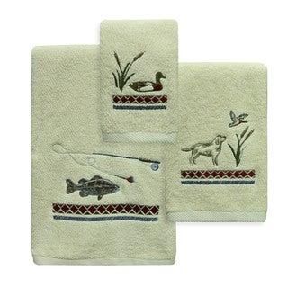 Bacova Live Love Lake Beige Cotton Towel