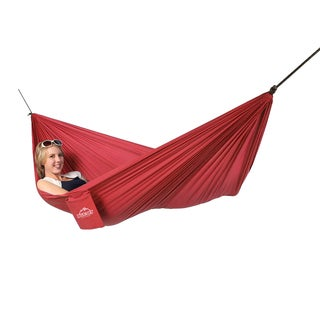 Blue Sky Single Ultralight Hammock Red with Tree Straps