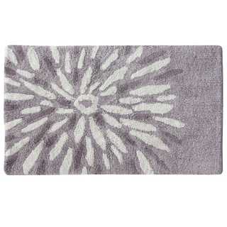 "Flower Power 21""x34"" Bath Rug by Bacova"