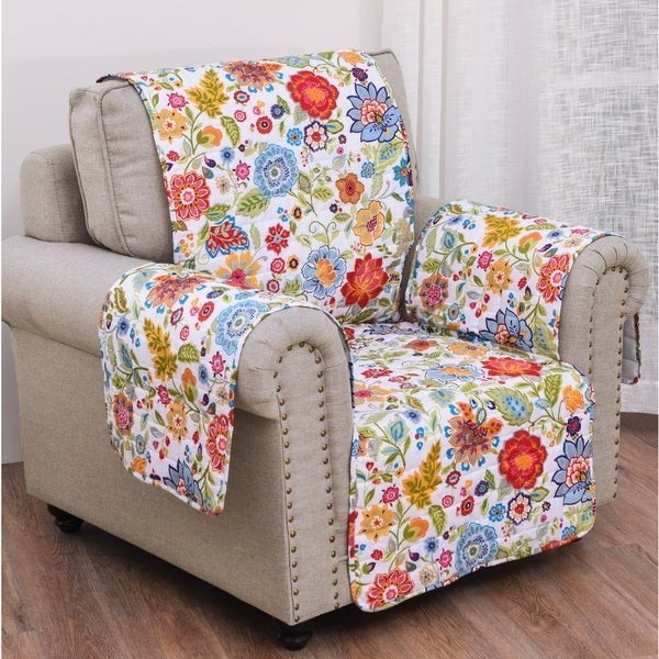 Astoria White Armchair And Recliner Furniture Protector