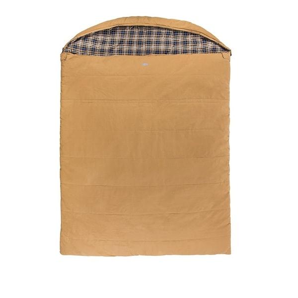 Kamp-Rite Overnighter 2 Person Sleeping Bag, Canvas