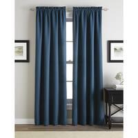 Addison Solid Twill Rod Pocket Curtain Panel