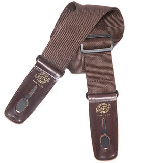 Lock-It Straps Professional 2-Inch Brown Polypro Strap W/Locking Ends