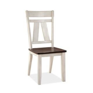 Winslow Splat Two-tone Side Chair