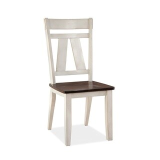 Winslow Splat Two-tone Side Chair
