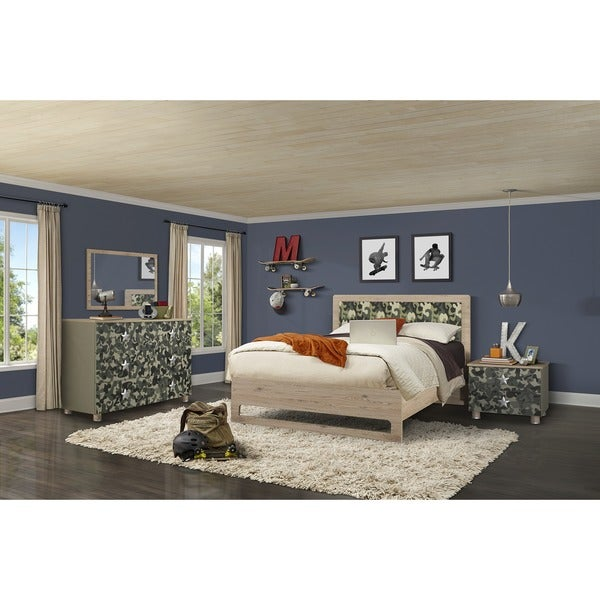 Shop My Youth Mimetico Kids 4-piece Full Bedroom Set - Free ...