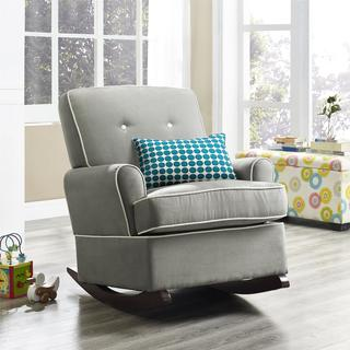Avenue Greene Burns Grey Rocker - N/A