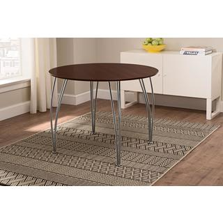 DHP Round Dining Table with Chrome Legs