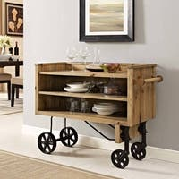 Modway Prevail Brown Wood Dining Stand