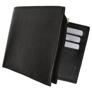 Swiss Leather Black Premium Leather Quality Wallet