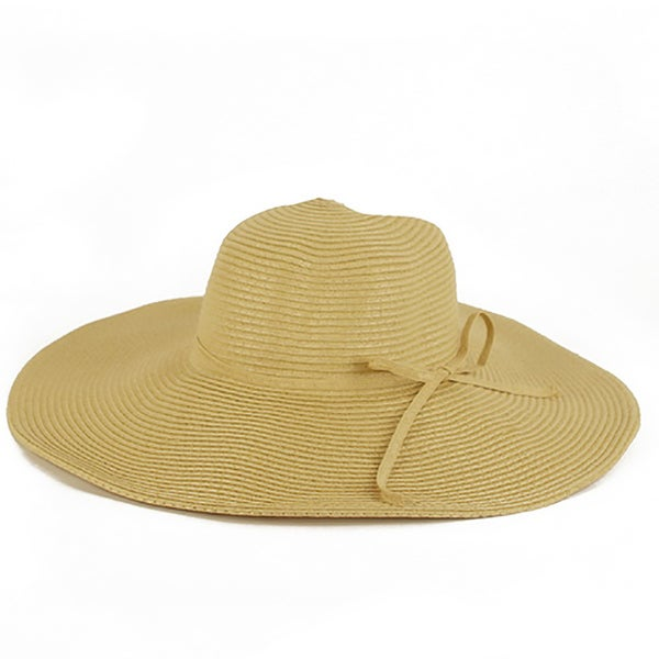 793d021347f79e Shop Pop Fashionwear Women's Cool Summer Floppy Wide Brim Straw Hat ...