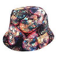 Pop Fashionwear Retro Paisley Summer Bucket Hat