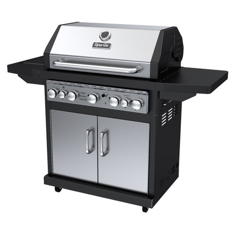 Dyna-Glo DGA550SSP-D Stainless Steel Outdoor 5-burner Gas Grill