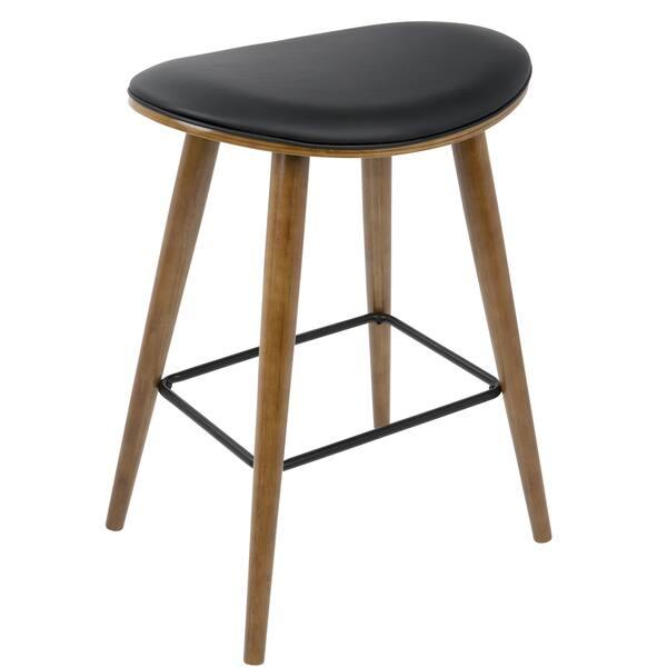 Strange Shop Copper Grove Albstadt Walnut And Faux Leather Saddle Cjindustries Chair Design For Home Cjindustriesco