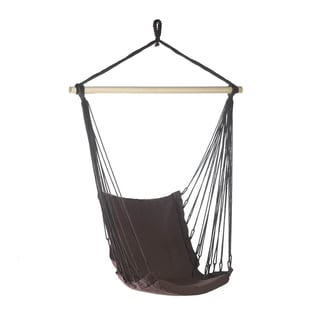 Koehler Home Decor Outdoor Espresso Swing Chair