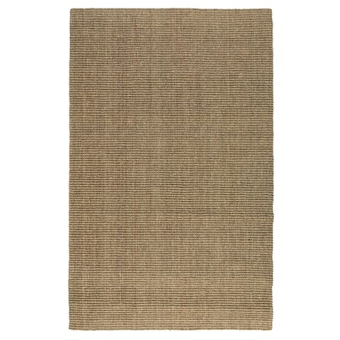 Kosas Home Handwoven Zelia Natural Seagrass Rug - 4' x 6'