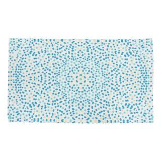 "Lindi Foil Printed Cotton Rug (27"" x 45"")"