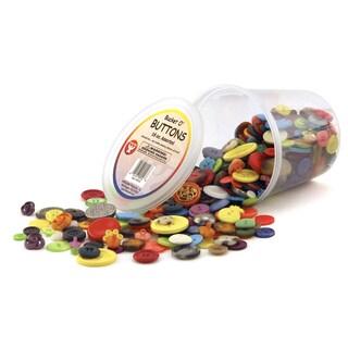 Hygloss Bucket O'Buttons, 3 - 16 oz. Buckets