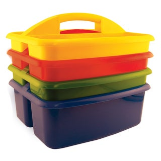 ECR4KIDS Large Art Caddy, 4/Pack