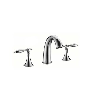Y-Decor Luxurious Widespread Basin faucet in Chrome finish - N/A