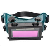 Solar Powered Auto Darkening Welding Goggles Black